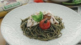 Squid Ink Pasta - 墨鱼汁意大利面