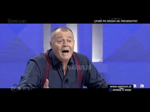 """Mustafa Nano perplaset në """"Opinion"""" me juristin Braho"""
