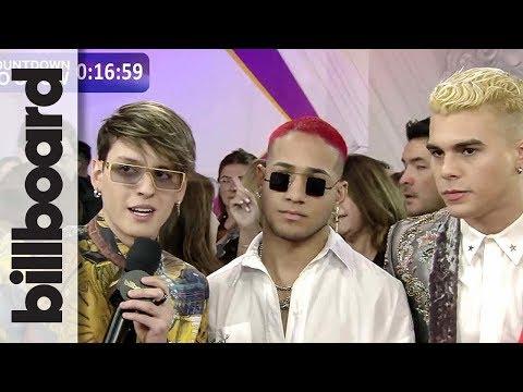 CNCO Talk Fashion, Favorite Boy Bands & More | Billboard Latin Music Awards
