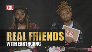 EarthGang Test Their Friendship in 'Real Friends'