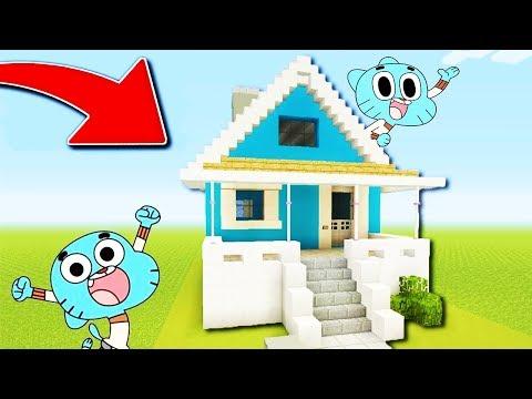 J'AI TROUVÉ LA MAISON SECRÈTE DE GUMBALL !! Gumball house in Minecraft