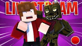 🔴IS SPRINGTRAP ALIVE? Fun.Mineteria.Com (Minecraft Roleplay)