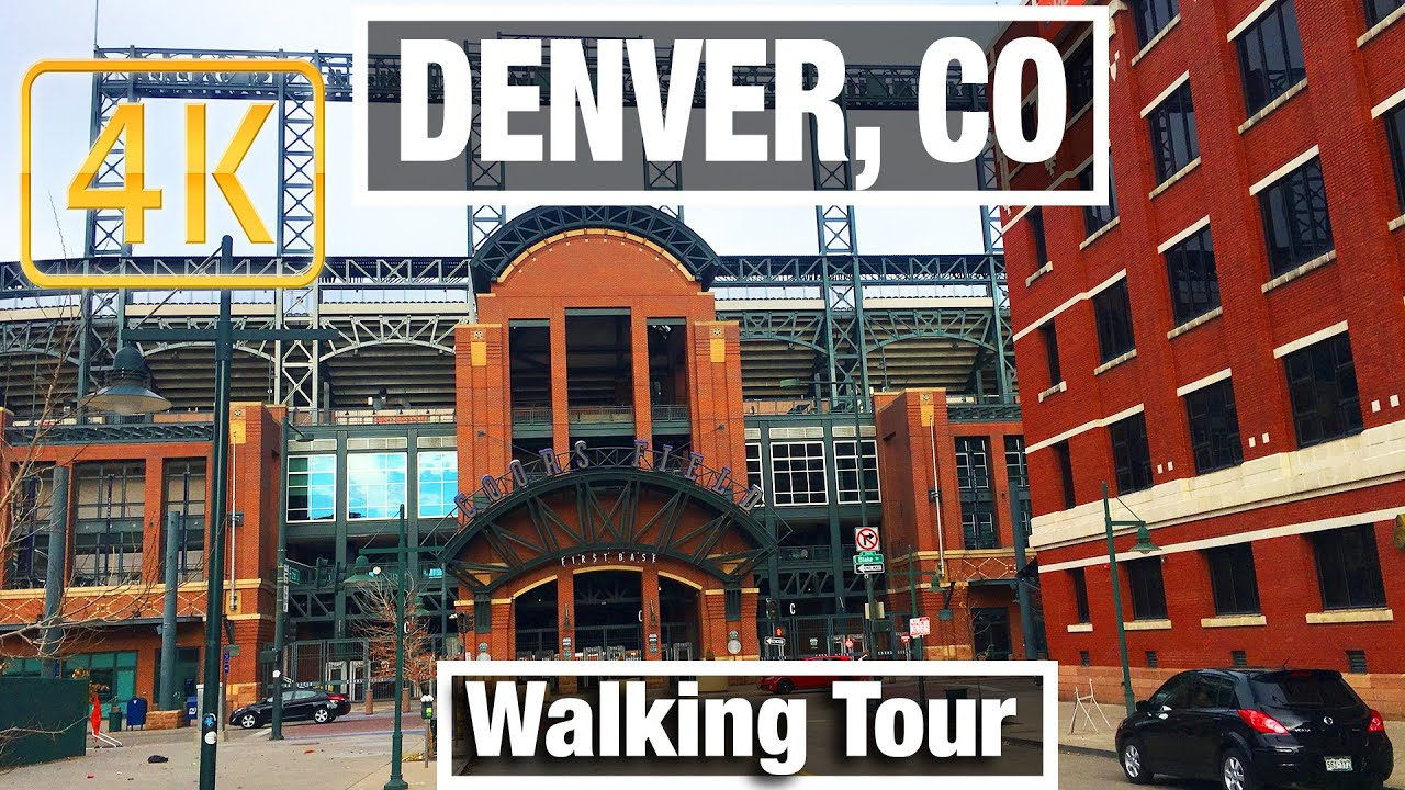 4K City Walks: Denver, Colorado LoDo City Tour