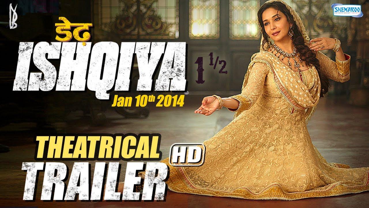 Download Dedh Ishqiya (Jan 2014) - Theatrical Trailer | Madhuri Dixit - Naseeruddin - Arshad Warsi - Huma