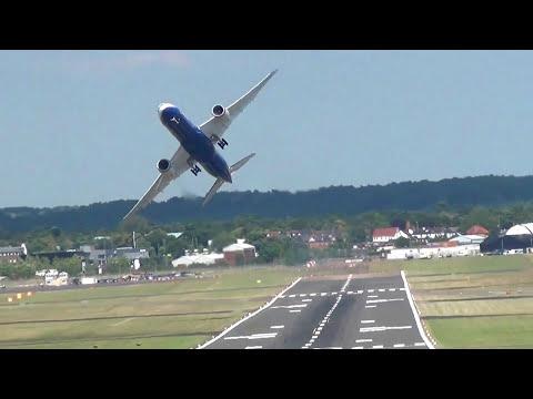 Strangest Boeing 787 Touch & Go Manoeuvre.