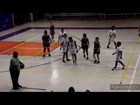 Stem vs Brusly middle school girls basketball