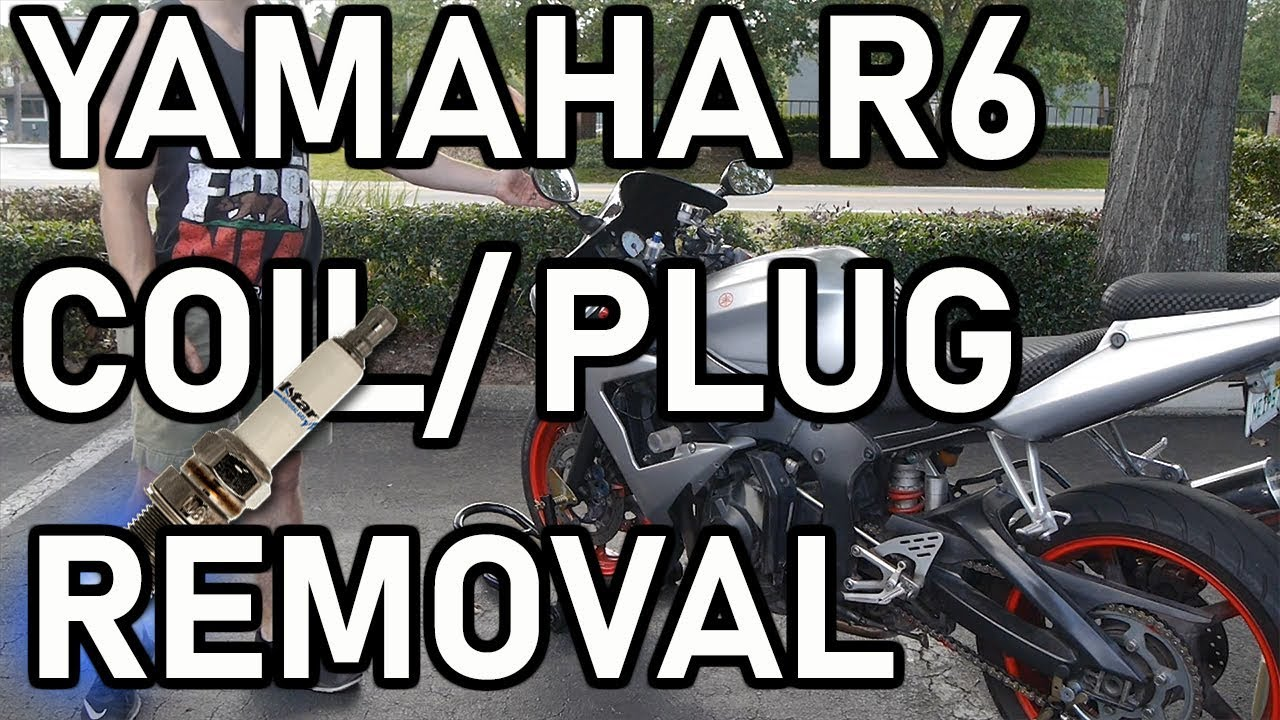 Motorcycle Spark Plug And Coil Replacement 2004 Yamaha R6