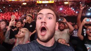 WWE Hell In A Cell 2018 Reaction & Vlog ROW 5 (San Antonio, TX) | Brandon Hodge Vlog #79