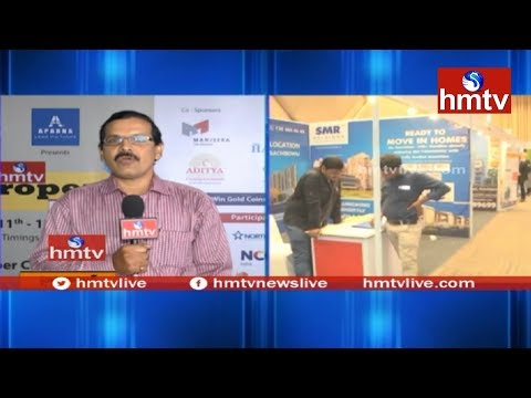 Business Analyst Anil On 2nd Day hmtv Property Expo | Madhapur | hmtv News