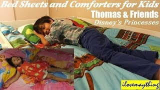Thomas & Friends, Disney Princesses Bed Sheets and Comforters