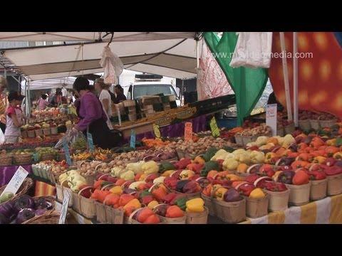 Farmers Market, St. Jacob, Waterloo - Canada HD Travel Channel