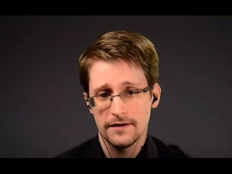 Snowden @ MIT Media Lab (2016)