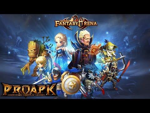 FantasyArena Gameplay PVP iOS / Android
