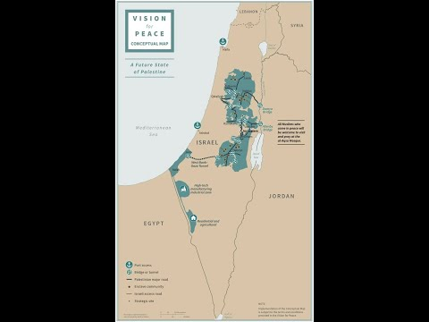 Trump's Palestine (A Map Analysis)