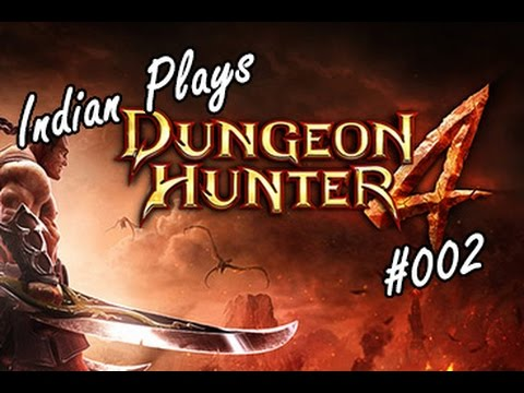 Indian Plays Dungeon Hunter 4 #2 - Lightless Grove, Mage Gameplay