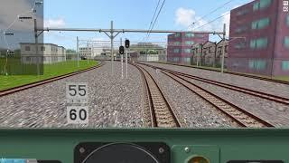 OpenBVE East Japan Railway Narita Line (Narita  - Sawara)   JR東日本 成田線本線 (成田往佐原)