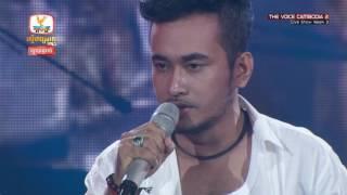 The Voice Cambodia - ថែល ថៃ  -  ស្អប់ - Live Show 29 May 2016
