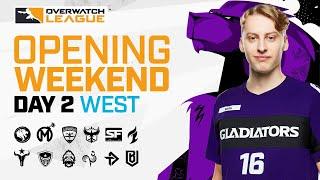 [Co-Stream] Overwatch League 2021 Season | Opening Weekend | Day 2 — West