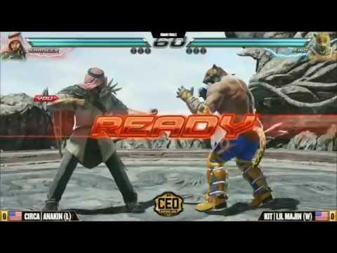 CEO2016 Tekken 7 Grand Finals - CIRCA ANAKIN vs KIT LIL MAJIN