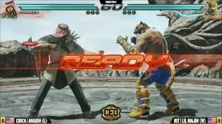 CEO2016 Tekken 7 Grand Finals - CIRCA ANAKIN vs KIT LIL MAJIN