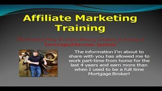 Affiliate Marketing Training For High Earnings