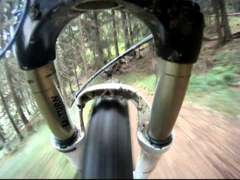 mountainbike downhill hochstein - lienz gopro hd