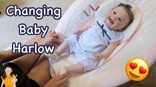 Changing Reborn Baby Harlow | Kelli Maple