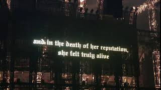 Taylor Swift - And in the death of her reputation, she truly felt alive.