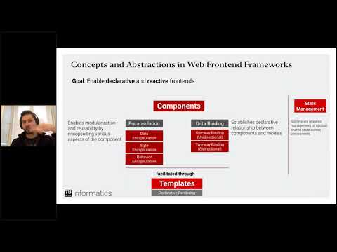 Web Engineering (TU Wien) - L9: Frontend Abstractions with Vue.js (Part 1: Concepts)