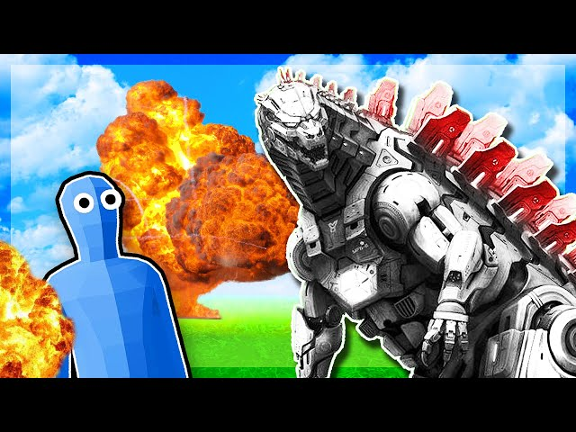 TABS - I EVOLVED This Noob Into MECHA GODZILLA - Totally Accurate Battle Simulator