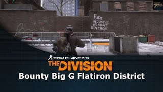 Tom Clancy's The Division Bounty Big G Flatiron District