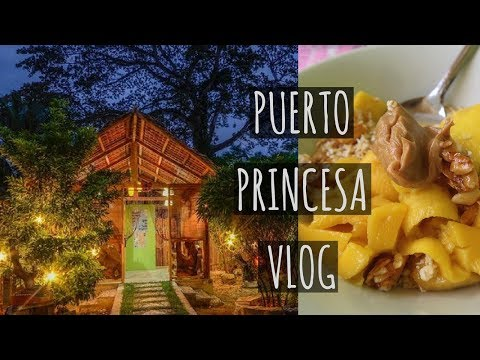 VEGAN IN THE PHILIPPINES // PUERTO PRINCESA VLOG