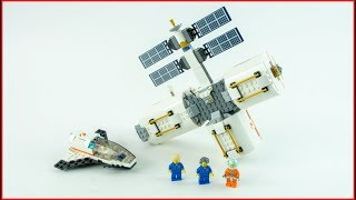 LEGO CITY 60227 Lunar Space Station Construction Toy - UNBOXING