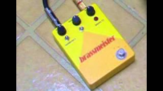 Demo of GGG Brassmaster Clone Bass Distortion Pedal