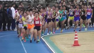 【頑張れ中大】日体大記録会5000m24組 藤井・岩本 2018.12.2