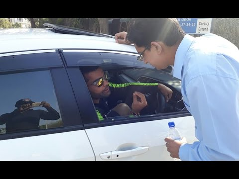 Umar Akmal's Car Number Plate Issue
