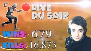 [FR/PC/LIVE] Fortnite en solo 679 wins / lvl 72 / 100