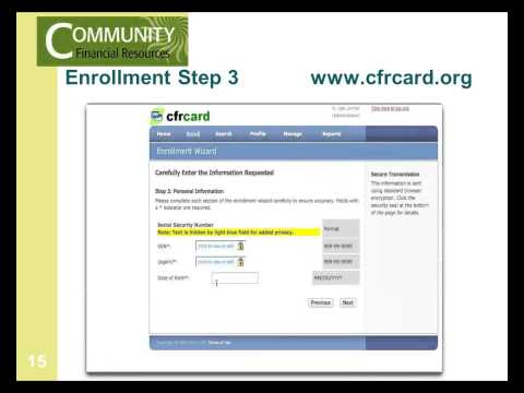 CFR Prepaid Debit Card Administrator Training
