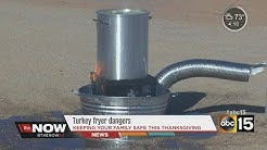 Safety tips to remember when deep-frying a turkey