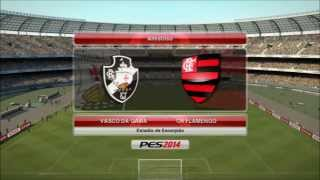"PES 2014 PS3: ""Vasco X Flamengo"" [HD 720p]"