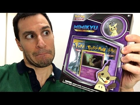 TWO SECRET RARES FROM ONLY 3 PACKS!!! - Opening a NEW MIMIKYU PIN COLLECTION POKEMON CARD BOX!