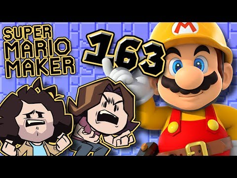 Super Mario Maker: Savage Dragon - PART 163 - Game Grumps