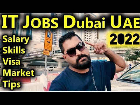 IT JOBS In Dubai UAE 2021    Market Condition    Salary, Skills, Visit Visa Job Search    Real TIPS