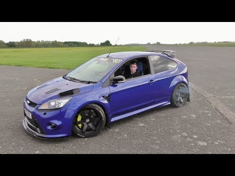 Ford Focus Rs Mk2 2 5ltr Turbo 500 Bhp Raf Tibenham Airfield 2018