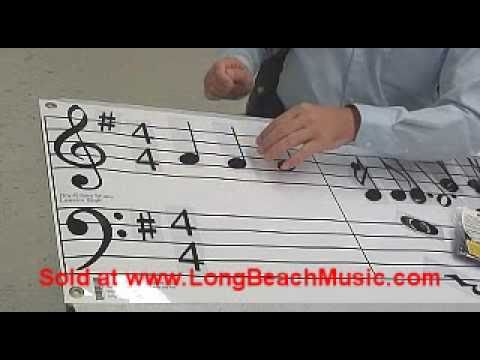 Music Notes & Symbols Set & Dry Erase Music Grand Staff