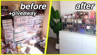 Beauty Room Transformation + Makeup Collection Tour | YesHipolito