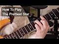 'The Prettiest Star' David Bowie Guitar Lesson