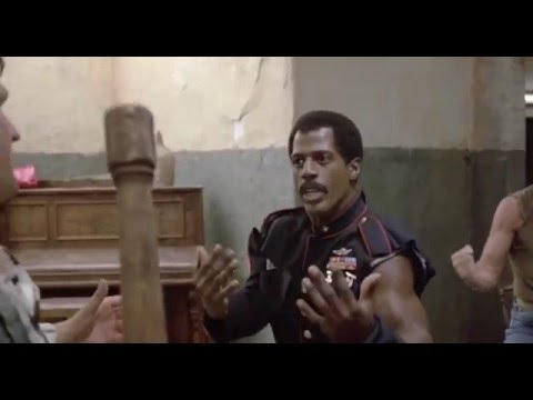 American Ninja 2 - Steve James aka Curtis Jackson and the one and only true Jax Briggs