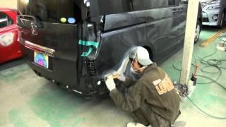 【その1】東京都 東大和市よりご来店 ホンダ ステップワゴンの板金・塗装・修理作業です。 【板金塗装なら東京立川市のガレージローライド】 thumbnail