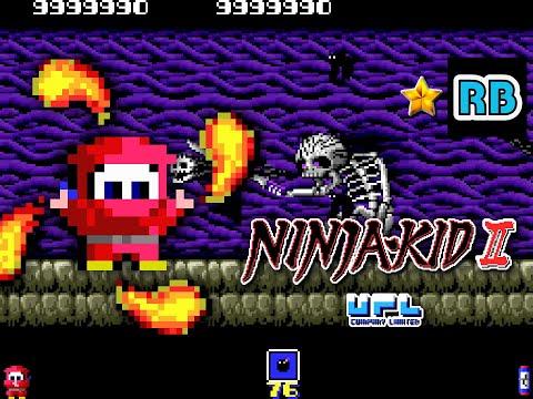 1987 [60fps] Ninja-Kid II 9999990pts ALL